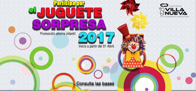 Promoción Ahorro Infantil 2017